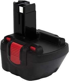 Exmate Ni-MH 12V 3,5Ah Reemplace BOSCH Batería de taladro para Bosch BAT043 BAT045 BAT120 BAT139 2607335542 2607335526 2607335274 2607335709 GSR 12-2 12VE-2 PSR 12 GSB 12VE-2 22612 23612 32612