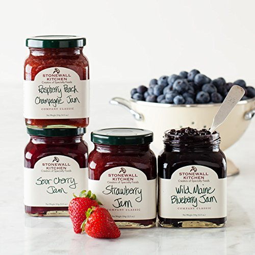 Stonewall Kitchen 4 Piece Favorite Jam Collection