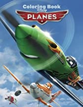 Disney Planes: Coloring Book for Kids and Adults, Activity Book, Great Starter Book for Children