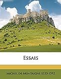 Essais Volume 1 - Nabu Press - 13/05/2010