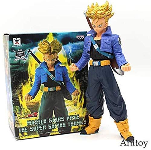 LWH-MOU Dragon Ball Z Master Stars Piese Die Super Saiyajin Trunks MSP PVC Figur Sammler Modell Spielzeug 26cm