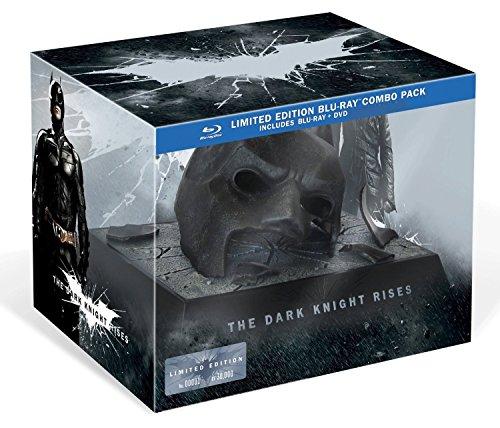 The Dark Knight Rises [Édition limitée Masque Batman-Blu-Ray + DVD + Copie Digitale]
