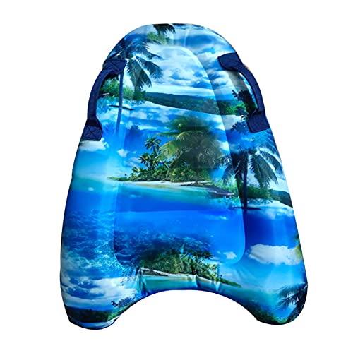 LOVOICE Tavola da surf gonfiabile, tavoletta da nuoto per bambini, per la spiaggia, il surf, il nuoto, lo sport all'aria aperta