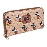 CERDÁ LIFE'S LITTLE MOMENTS Portafoglio porta carte di Topolino - Licenza ufficiale Disney