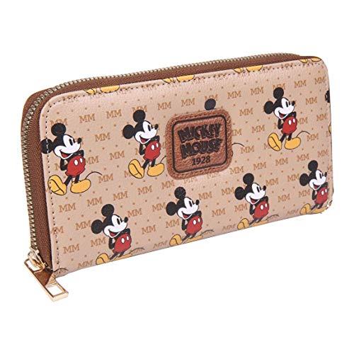 CERDÁ LIFE'S LITTLE MOMENTS Cartera Tarjetero de Mickey Mouse - Licencia Oficial Disney