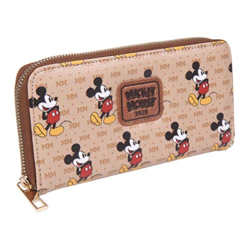CERDÁ LIFE'S LITTLE MOMENTS Cartera Tarjetero de Mickey Mouse - Licencia Oficial Star Wars