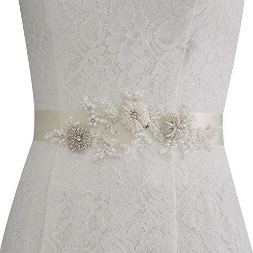 Dames Bruiloft Riem Strass Bruids Kralen Taille Riem Mode Elegante Prachtige Outdoor Comfortabele Mooie Decoratieve Jurken Riem Vrouwen Riem