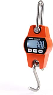 KKmoon Mini LCD Digital 300 kg Portátil Industrial Heavy Duty Peso Gancho Crane Pendurado Escala