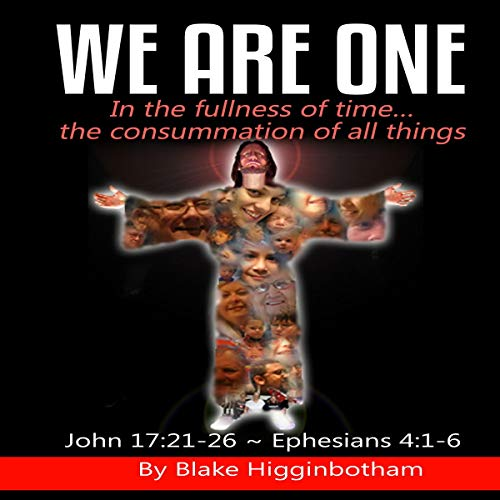We Are One audiobook cover art