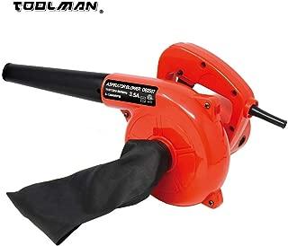 Toolman Lion Tools DB2507 Corded Electric Leaf Sweeper Vacuum Blower 3.5A for Heavy Duty Works with DeWalt Makita Ryobi Bosch Accessories