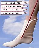 Klaus Weyh Metallwaren Designprodukte / Entwicklung - Herstellung - Verkauf Strumpfanzieher/Ankleidehilfe + Ausziehhilfe für Strümpfe und Schuhe -