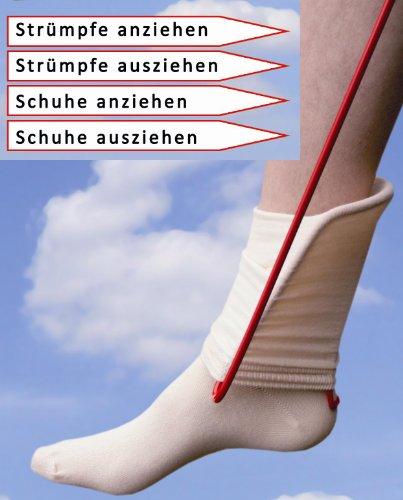 Klaus Weyh Metallwaren Designprodukte / Entwicklung - Herstellung - Verkauf Strumpfanzieher/Ankleidehilfe + Ausziehhilfe für Strümpfe und Schuhe