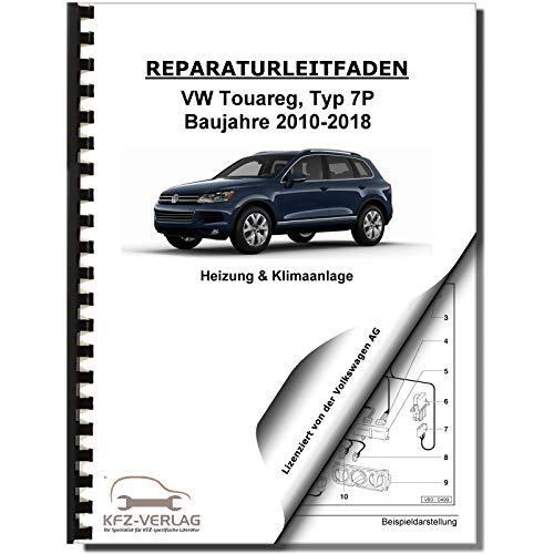VW Touareg, Typ 7P (10>) Heizung, Lüftung, Klimaanlage - Reparaturanleitung