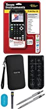 Texas Instruments TI-84 Plus CE Graphing Calculator With Travel Case, And Essential Graphing Accessory Bundle, Black photo