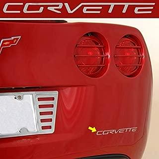 C6 Corvette Stainless Steel Rear Bumper Letter Kit Fits: All 05 through 13 Corvettes