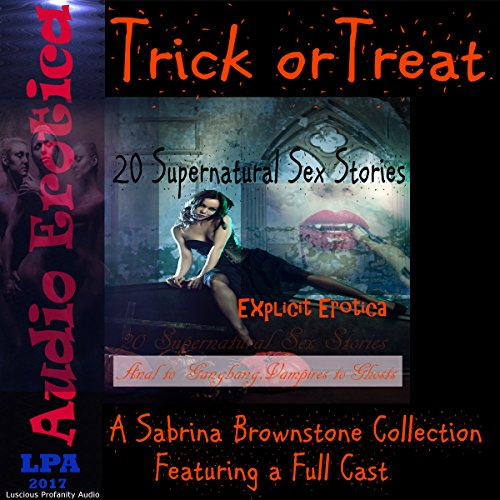 Trick or Treat: A Sabrina Brownstone Collection audiobook cover art