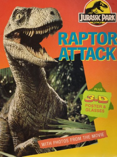 Raptor Attack: Book + 3-d Poster + Glasses