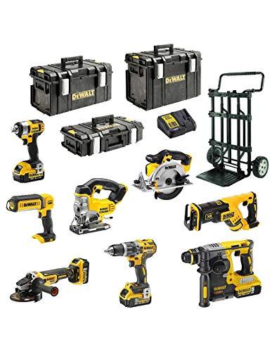 DeWALT Kit XP895P4DSB (DCD796 + DCG405 + DCH273 + DCS367 + DCS391 + DCS331 + DCL050 + DCF880 + 4 x 5,0 Ah + DCB115 + DS150 + DS300 + DS400 + DS Carrier)