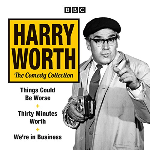 The Harry Worth Comedy Collection audiobook cover art