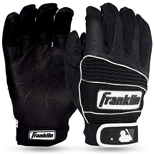 Franklin Sports Neo Classic Series Gants de Baseball, Mixte, 10919F2, Noir/Noir, Moyen