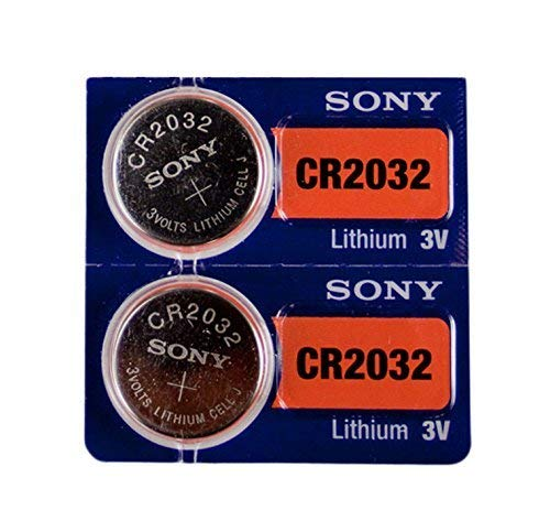 Sony 3V Lithium CR2032 Batteries (2 Pack Blister)