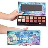 BQYY 14 Color Sombra De Ojos Ojo Shadow Paleta Maquillaje Profesional Caja de Herramientas Elegante Brillo Mate Flash Neutro Alta Pigmentación Persistente,B