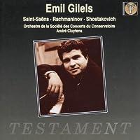 Gilels Plays Saint-Saens, Rachmaninov, Shostakovich