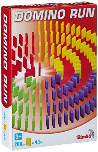 Noris 106065644 - Games & More Domino Run 200 Steine