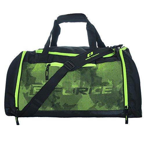 Pro Touch Logo Bag Force Sporttasche Tasche 54 Liter Schwarz/Grün Grösse M
