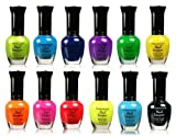 Kleancolor Retro Neon Set of 12 by Kleancolor Nail Lacquer