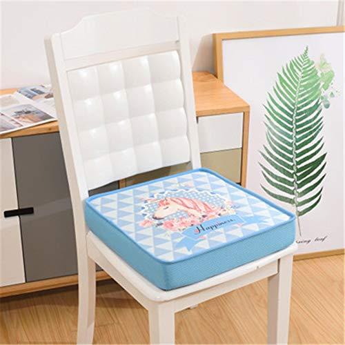 NoNo Sitzkissen Dining & Garden Booster Kissen Bürostuhl schönes Pferd Bluehome Leinwand Druck abnehmbare-40x40cm