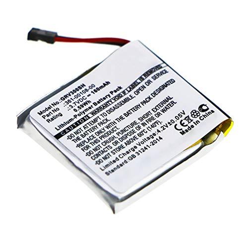 subtel Batería de Repuesto 361-00108-00 Compatible con smartwatch Garmin vivoactive 3, 160mAh 361-00108-00 Accu Battery Pack