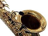 La Pluma saxofón micrófono con Flexible MICRO-GOOSE cuello por Myers pastillas