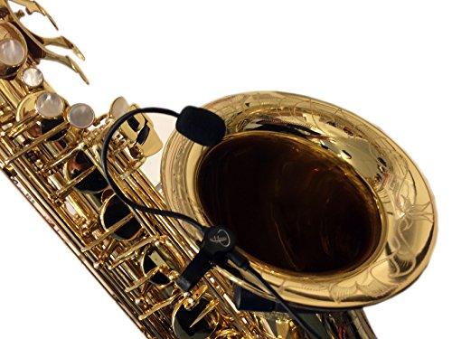 Die Feder für Saxophon Mikrofon mit micro-goose flexibel Nacken durch Myers Tonabnehmer