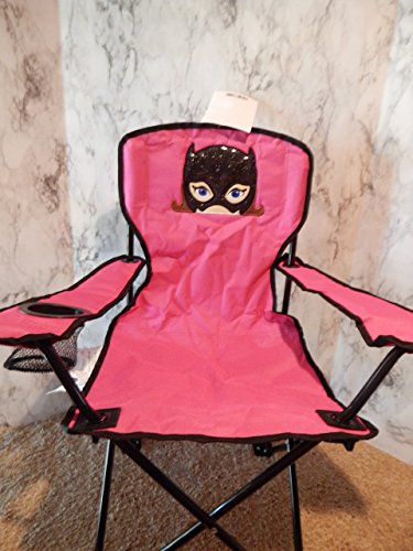 Personalized Bat Girl Folding Chair (CHILD SIZE)