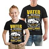 Spaß kostet Vater und Sohn Tshirt in verschiedenen Grössen