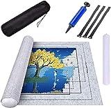 Puzzle Roll Storage Mat,Rompecabezas Almacenamiento Estera,Estera de Rompecabezas Portátil,Fieltro Puzzles,Puzzle Mat Roll,Porta Puzzle,Tapete Puzzle,Mat Puzzles