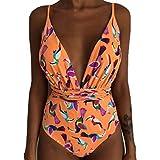 Mambain Costume Intero Donna Brasiliana,Bikini Interi Donna,Costumi da Bagno Intero Donna Sexy Push...