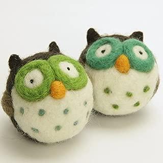 Woolbuddy Needle Felting Animal Kit (Owl)