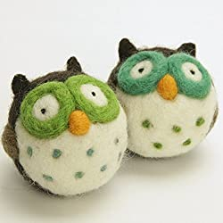 woolbuddy needle felting owl kit