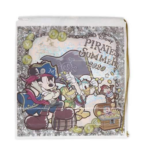 ミッキー&フレンズ ビニールバッグ ディズニーパイレーツサマー2020 海賊 ディズニー グッズ お土産【東京ディズニーシー限定】