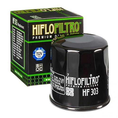 Filtro de aceite Hiflofiltro para moto Kawasaki 650ER6-n 2007a 2015HF303