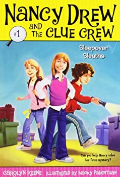 Paperback Sleepover Sleuths (Nancy Drew and the Clue Crew #1) Book