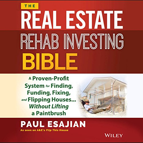The Real Estate Rehab Investing Bible cover art