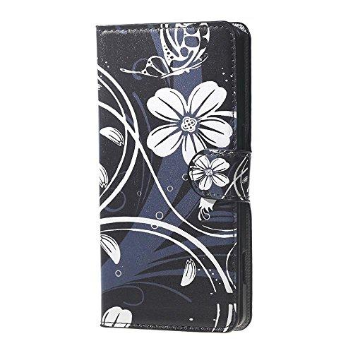 DETUOSI Doogee X5 Pro Hülle,Flip Hülle Cover Lederhülle für Doogee X5/X5 Pro Smartphone Hülle mit Kartenfach