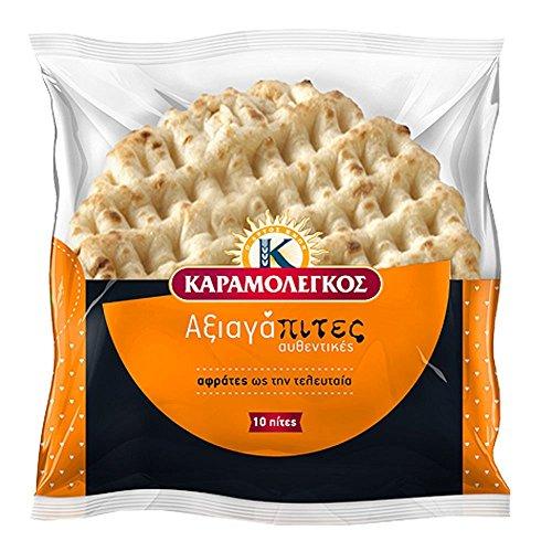 Griechische Pita Brot, 30 Portionen, 3 Packung mit 10 Pcs, Gyros Pita