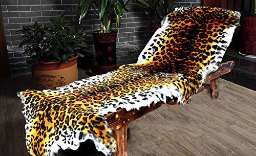 HirrWill Manta de Lana simulación patrón de Tigre Alfombra de Leopar