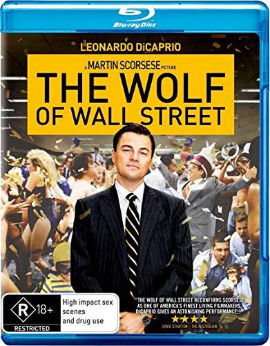 leonardo dicaprio - the wolf of wall street (1 DVD)