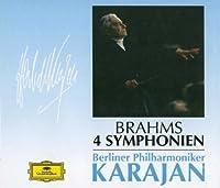 Brahms: 4 Symphonien by Herbert Von Karajan