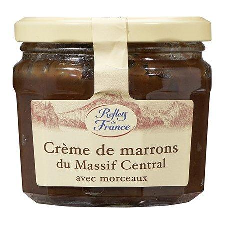 Reflets de France: 2Vasos Crème de Marrons avec Morceaux Du Massif Central–marone Crema de Francia de la Massif Central